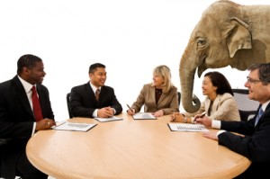 How do you Negotiate with an Elephant?